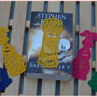 This is our range of 100% Embroidered Cotton Bookmarks